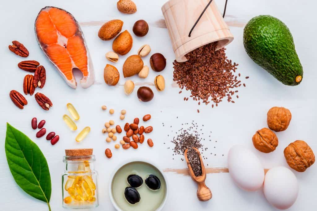 Foods such as salmon and chia seeds can bost your metabolism
