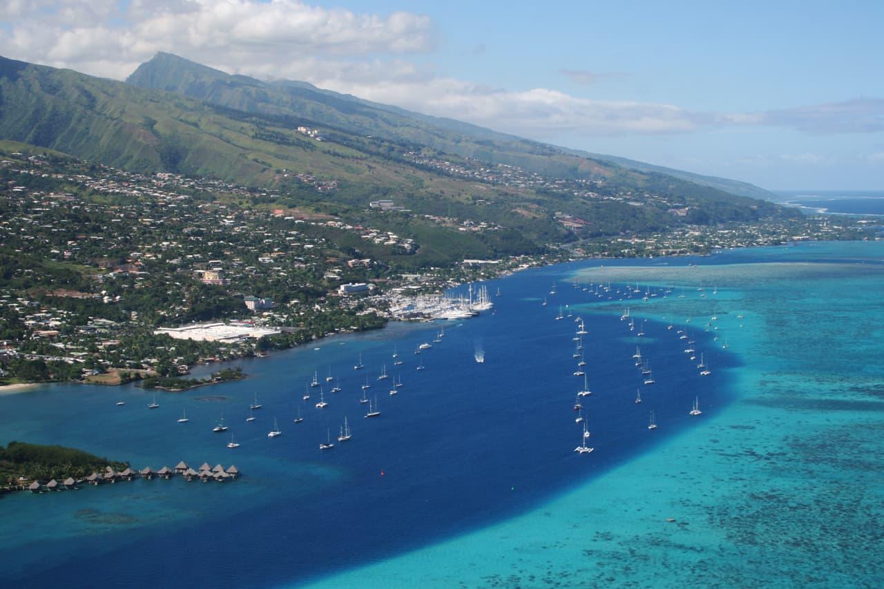 Papeete, the capital of French Polynesia