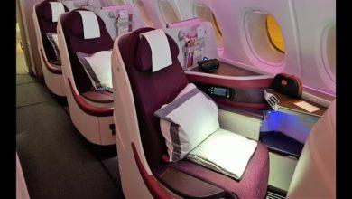 Qatar business class seats