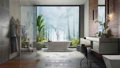 Beautiful bathroom remodeling project