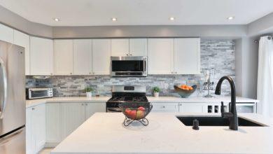 Finished kitchen renovation project